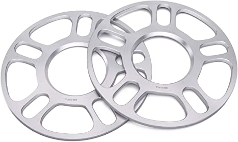 2 X 5MM DIRECT BORE HUBCENTRIC ALLOY WHEEL SPACERS SHIMS DIRECT FIT 5X120 67.1
