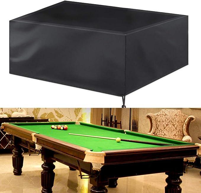 KOET - Funda para mesa de billar (impermeable), protección ...