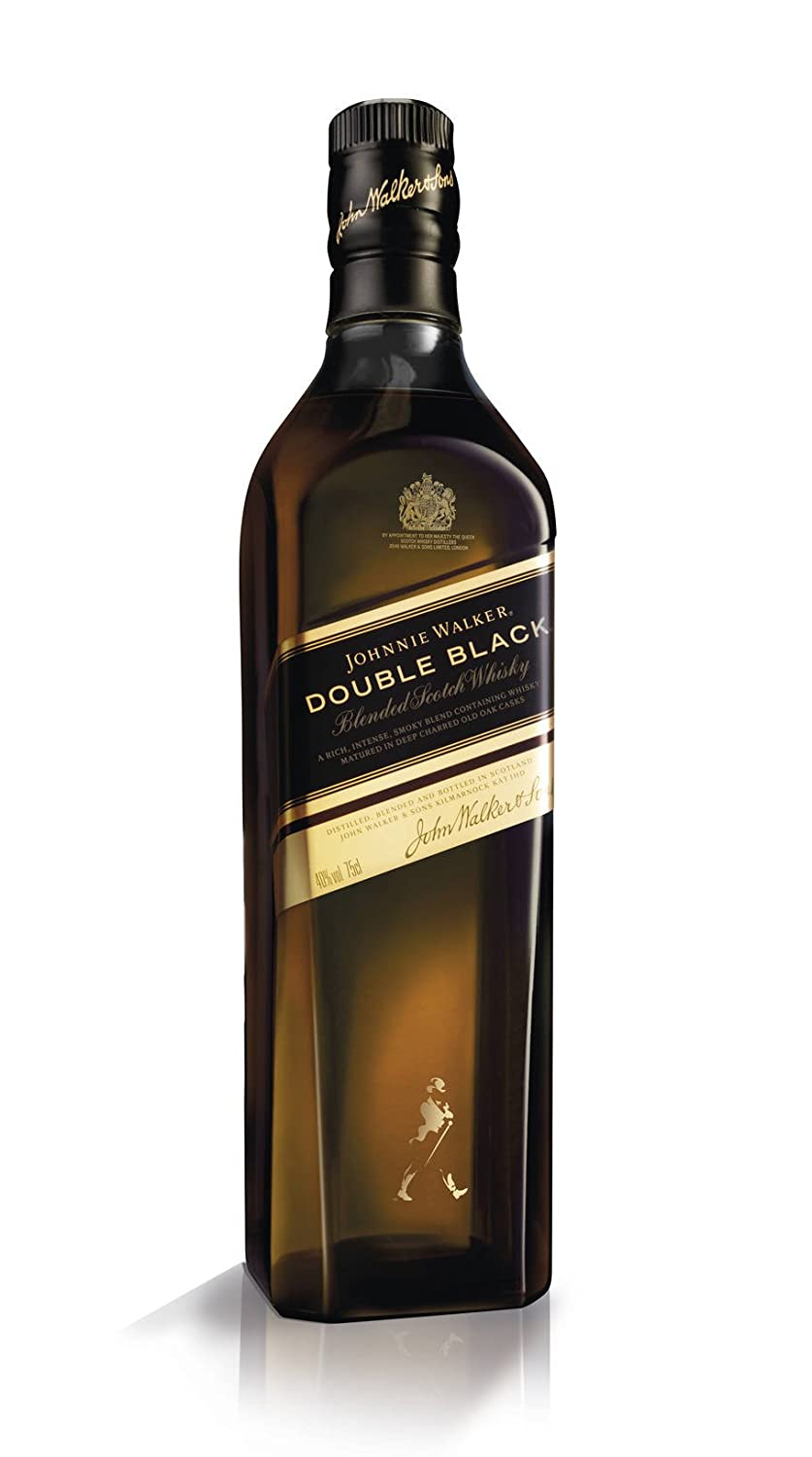 Black Label Price >> Johnnie Walker Double Black Label Blended Scotch Whisky From The Four Corners Of Scotland To Your Glass 70cl