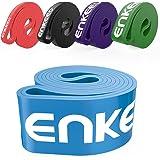 Enkeeo Banda di Resistenza 100% Latice Pull Up per Allenamento Esercizio Fisioterapia Crossfit Fitness a Casa