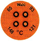 Wahl Instruments 443-066C Round Mini Four Position IC Batch/Vacuum Chamber Temp-Plate, 65, 93, 121 and 148 degrees C (Pack of 10)