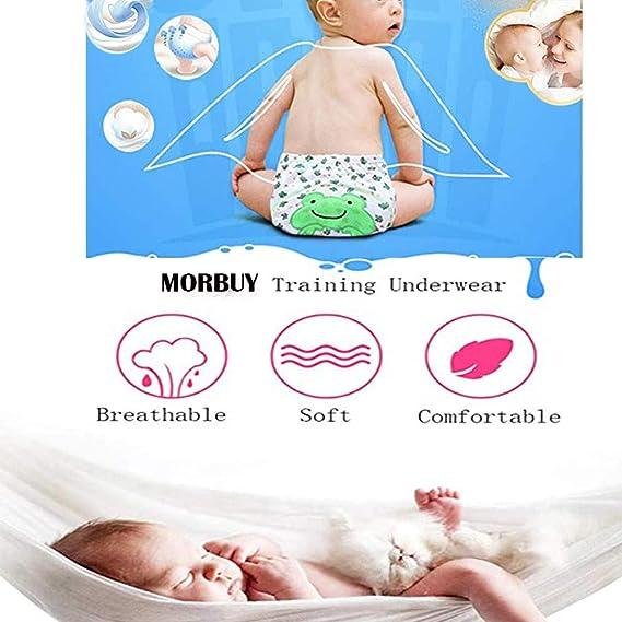 Morbuy Baby Lernwindel Trainerhosen Unterw/äsche Windeln Windelhose zum Toilettentraining T/öpfchentraining f/ür Baby Kleinkind T/öpfchen Trainer Windelhosen 2 St/ück