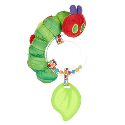 World of Eric Carle, The Very Hungry Caterpillar Ring Rattle : Baby Rattles : Baby