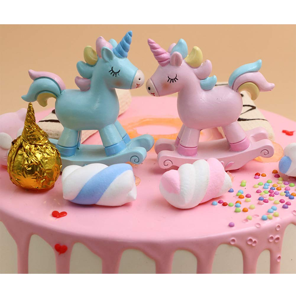 Unicorn Cake Toppers Page Two