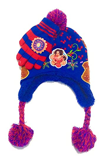 the best attitude 9ba7c d68a2 Image Unavailable. Image not available for. Color  Disney s Elena of Avalor  Girls 4-16 Fleece-Lined Knit Hat   Gloves Set