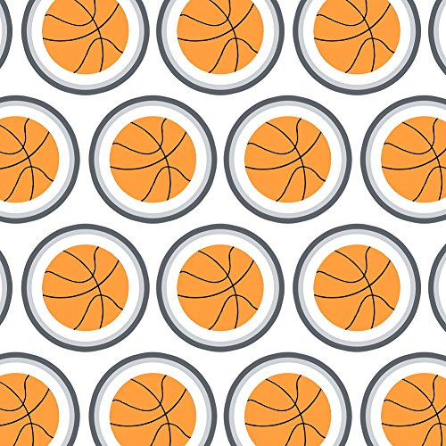 Premium Gift Wrap Wrapping Paper Roll Sports and Hobbies - Cartoon Basketball for $<!--$19.99-->