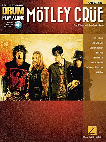 Motley Crue Star (Motley Crue: Drum Play-Along Volume 46 (Hal Leonard Drum Play-Along))
