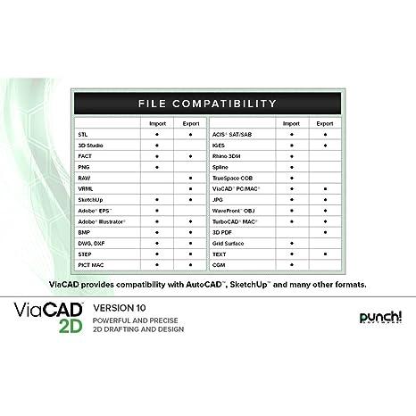 Punch Viacad 2d V10 For Windows Pc Download
