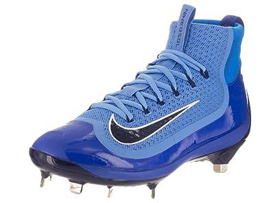923e84bb47a ... uk nike mines air huarache 2kfilth elite mid university blue midnight  navy baseball cleat 8.5 men