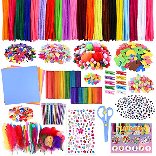 150pcs Self Adhesive Sticky Wiggle Googly Eyes Assorted Styles Kids Crafts