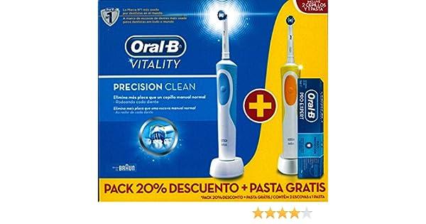 Braun M289757 - Cepillo dental duo vitality precision clean 2 ...