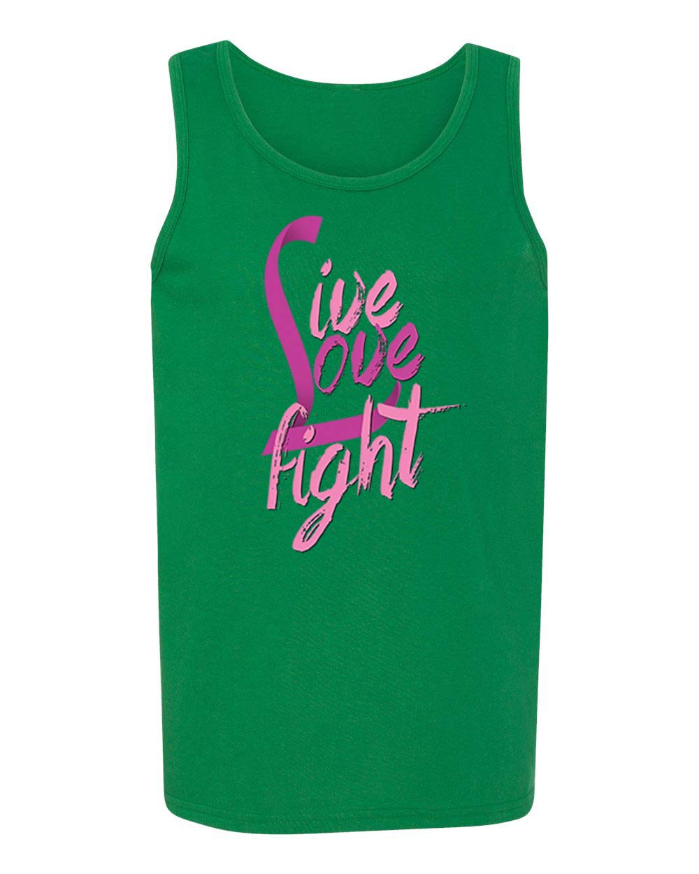 Breast Cancer Awareness Live Love Fight Falcons Tank Tops For Shirts