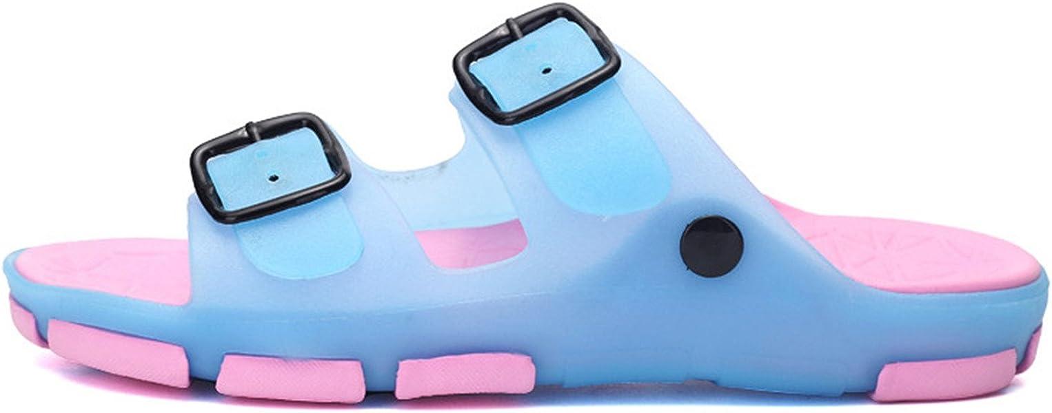 Summer Beach Slippers Sandals Casual Double Sandalias Women Slip on Flip Flops Flats Shoe