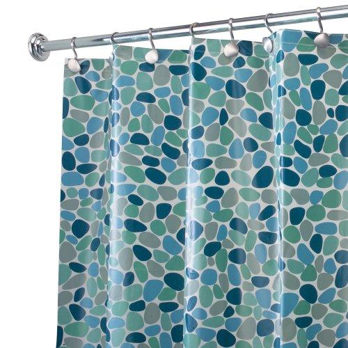 InterDesign River PVC Free Shower Curtain