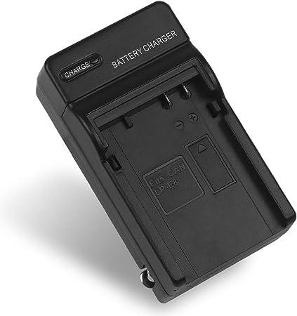 Mouchao Nuevo Cargador Profesional LC-E8C y bater/ía LP-E8 para Canon para EOS 550D