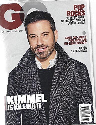 GQ Magazine february 2018 {Jimmy Kimmel Cover]