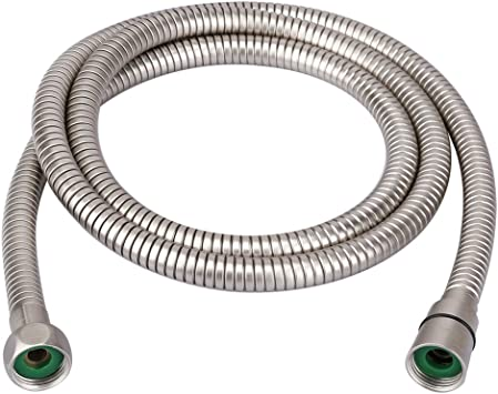 Stainless Steel Handheld Shower Tub Hose 1.5m Replacement Bathroom Extra Long US