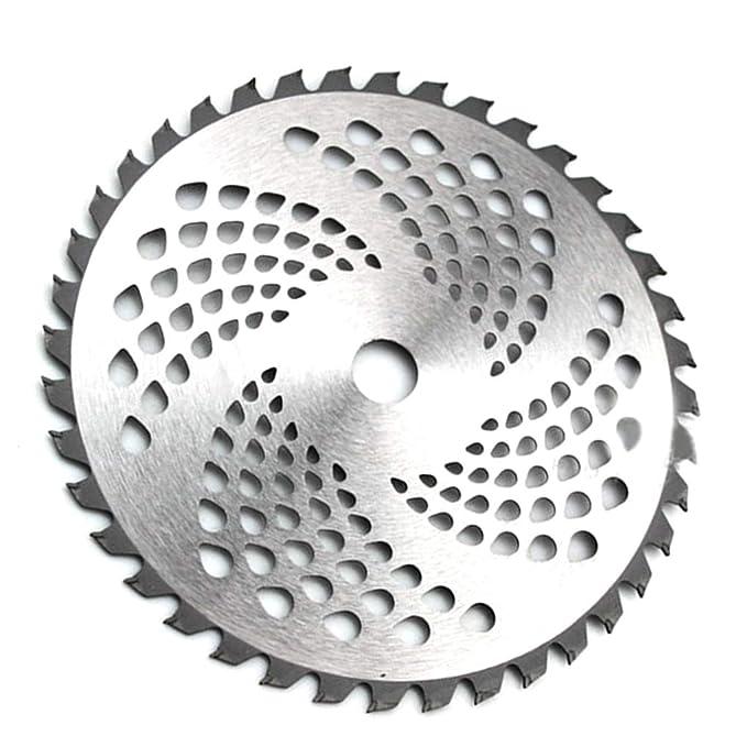 Sunlera - Disco de aleación para desbrozadora 40-80 Dientes Mower ...