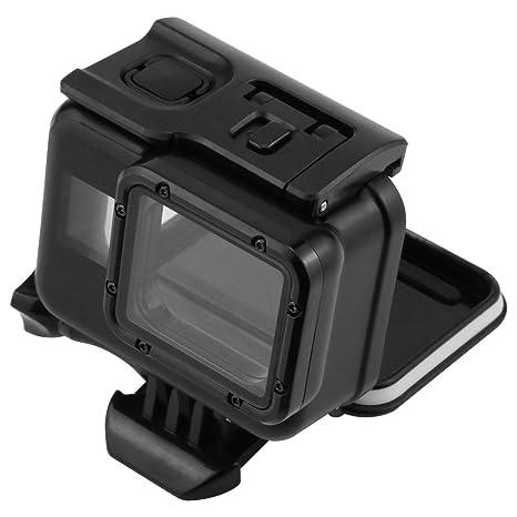 tenlacum impermeable buceo bajo el agua carcasa protectora caso de vivienda para GoPro Hero Cámaras 6, 5 (buceo shell-black)