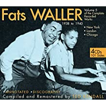 The Complete Recorded Works 1938-40, Vol. 5