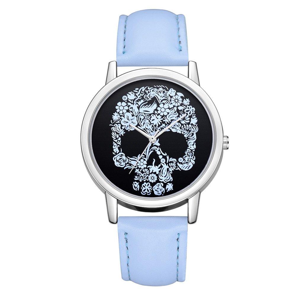 Dress Watch for Women Citizen,Luxury Fashion Leather Band Analog Quartz Round Wrist Watch Watches,Girls' Watches,Multicolor,Women Watches