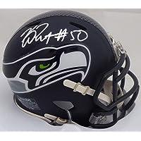 $59 » K.J. KJ Wright Autographed Seattle Seahawks Speed Mini Helmet In Silver MCS Holo Stock #144621