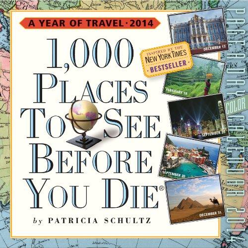 1000 before you die calendar - 9