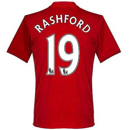 Amazon.com : Manchester United Home Rashford Jersey 2016 / 2017 ...