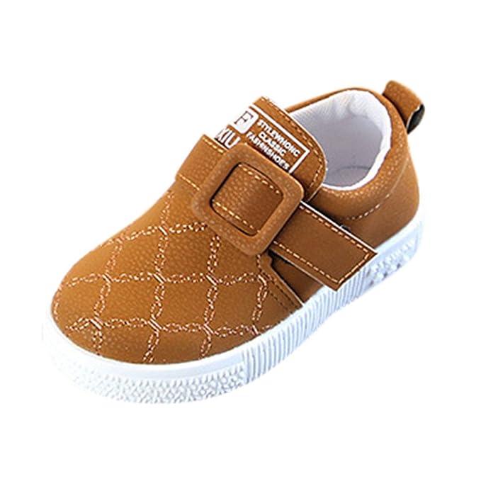 ❤ Zapatillas de Deporte Niños, Niño Zapatillas de bebé Zapatillas Chicas Niños Sólido Suave Antideslizante Absolute: Amazon.es: Ropa y accesorios