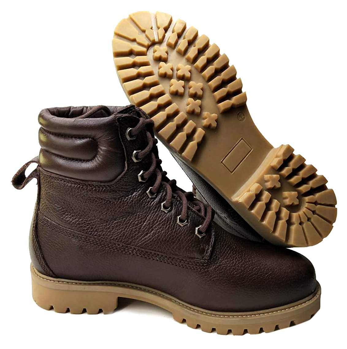 Genuine Leather Premium Lace-up Boot