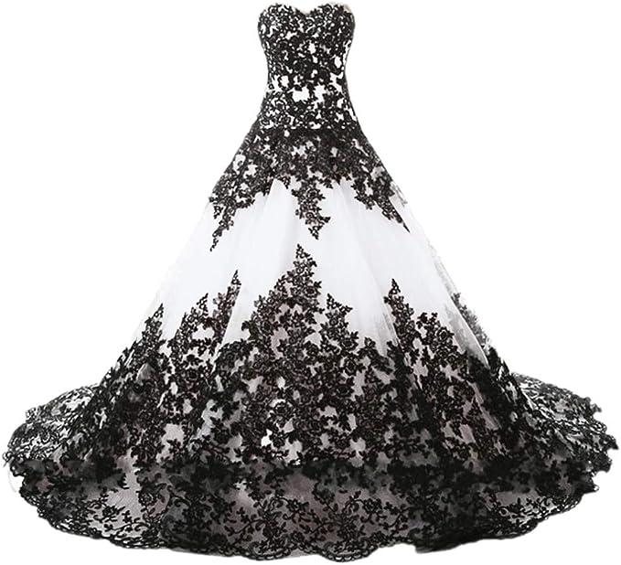 Women's Gothic Wedding Gown
