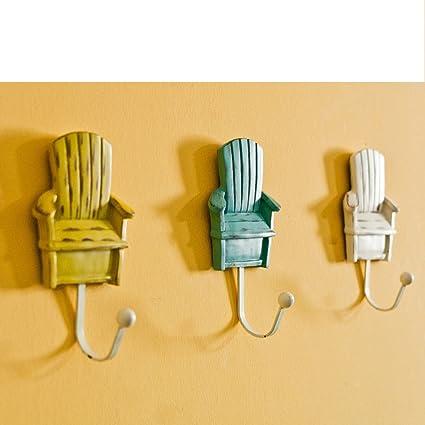 Amazon.com: Small Chair Hook/ Coat Hook/Bedroom Lobby Decoration ...