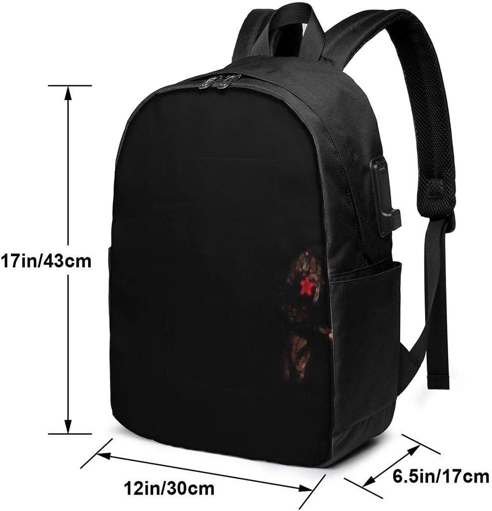 U2 Unisex Business Travel Backpack School Bag Bookbag Laptop Backpack for Women Men Kids Daypack Satchel with USB Charging Port