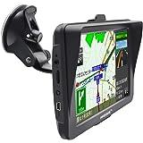 ポータブルカーナビ カーナビ 7インチ 車載GPS 2018年最新地図搭載 ラジオ内蔵 オービス警告 ナビ 高解像度LED 液晶パネル 12V・24V車対応