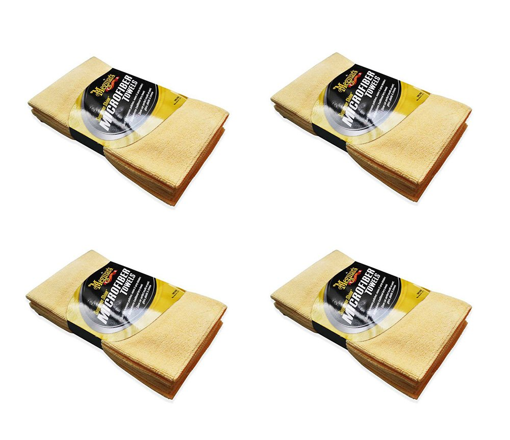 Meguiars Supreme Shine Xsrxy Microfiber Cloths, 3 Count (4 Pack) by Meguiar's