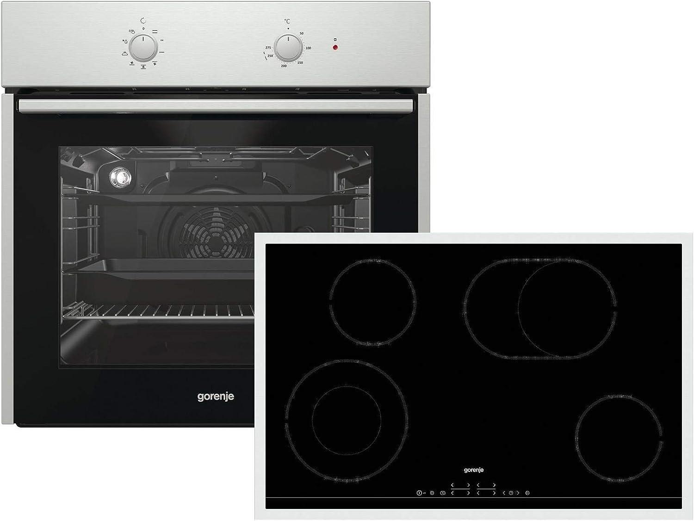 Gorenje Black Pepper Set I7 - Juego de hornillos para horno ...