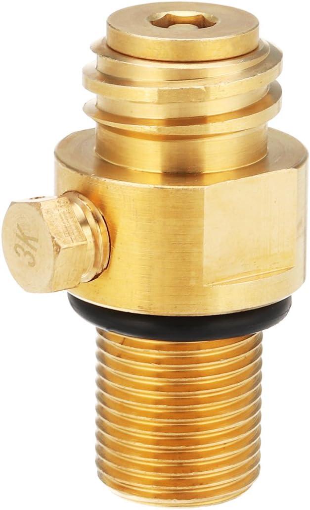 Amazon.com: Hvlystory M181.5 Thread Replacement Valve CO2 Tank Brass Pin Valve for Soda Stream