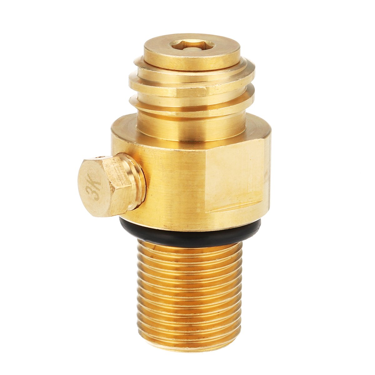 Hvlystory M181.5 Thread Replacement Valve CO2 Tank Brass Pin Valve for Soda Stream by Hvlystory