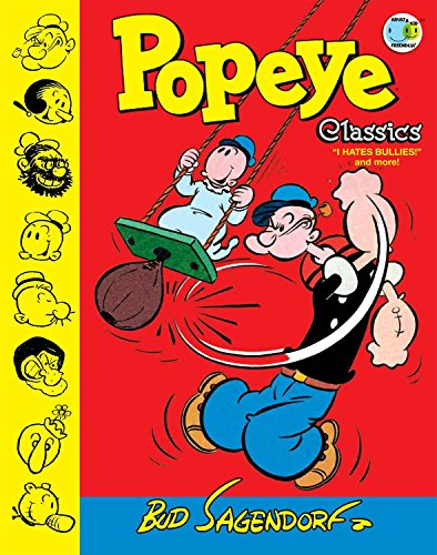 Popeye Classics Volume 8: I Hate Bullies and More by IDW Publishing