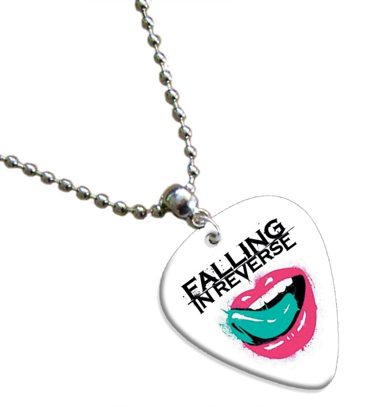 Amazon.com: Falling In Reverse Púa De Guitarra Collar banda ...