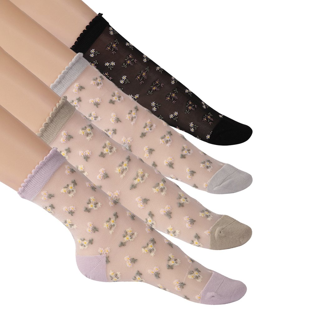 Sock Slippers Women Solid Invisible Silicone Anti-skid Summer Breathable Stretchy Deodorant High Quality Womens Soft Thin Simple Terrific Value Women's Socks & Hosiery