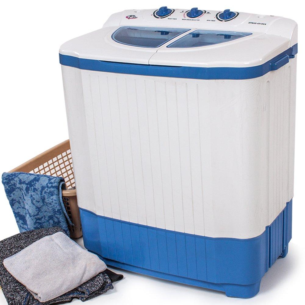 Tectake 400777 4 5 Kg Mini Miniwaschmaschine 3 5 Kg Wäscheschleuder Kombination