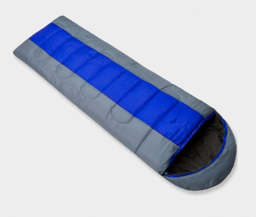 Bleu-gris 2,3 kg Leger Sac de Couchage Coton de Survie froidimpermeable Sac de couchageCamping en Plein air pour AugHommester l'épaisseur du Sac de Couchage Chaud