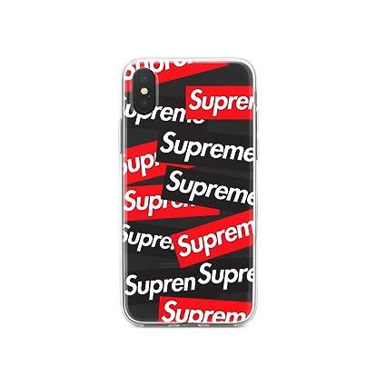 newest 656af 110a4 Amazon.com: Apple IphoneX Phone Clear Jelly TPU Scratch Proof Case ...