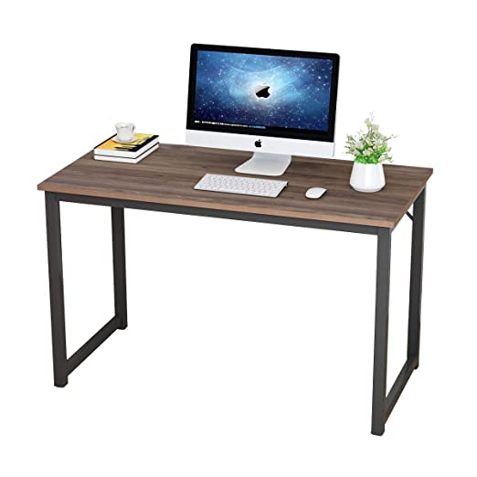 soges 120 x 60cm escritorios Mesa de Ordenador Compacto Resistente ...
