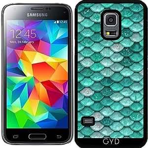 Funda para Samsung Galaxy S5 Mini - Escalas Brillo Aqua by UtArt