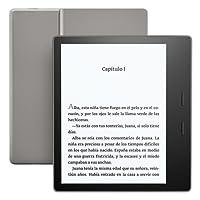 """Nuevo e-reader Kindle Oasis, resistente al agua, pantalla de 7"""" (17,78 cm) de alta resolución sin reflejos (300 ppp), 8 GB, wifi"""
