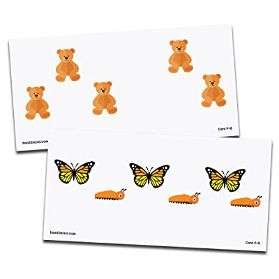 hand2mind 90016 Educational Basic Math Cards - Subitizing Pictures, Grade: Kindergarten to 5: Industrial & Scientific