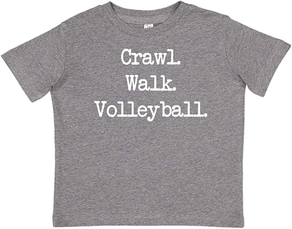 - Toddler//Kids Short Sleeve T-Shirt Walk Mashed Clothing Crawl Volleyball