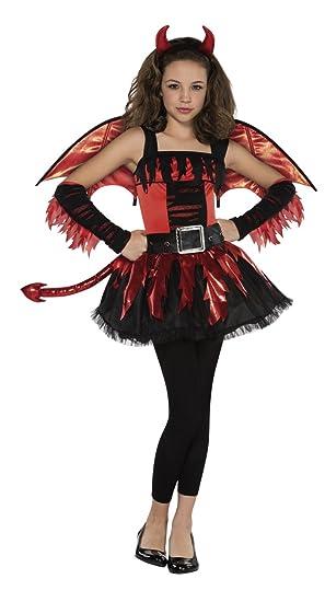 Christys Disfraz de diabla para adolescente (12-14 años ...